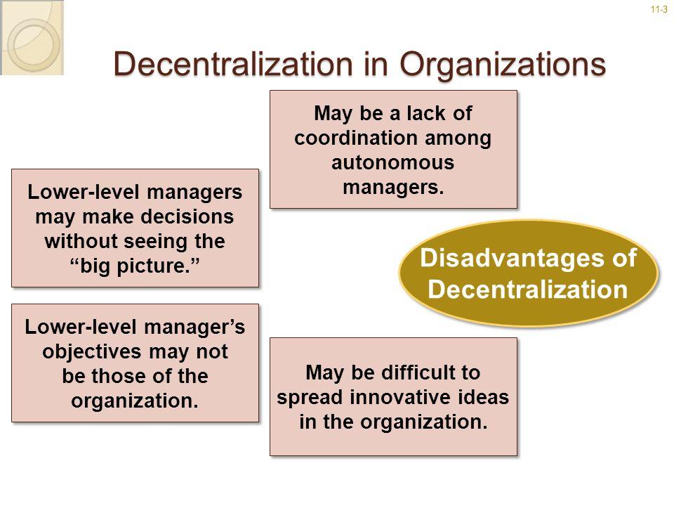 Decentralization in Organizations