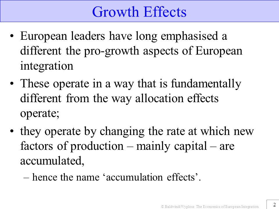 the effect of eu integration on Eu integration an international organization to plan migration policy conclusion conclusion local perspectives economic effects of migration the economic effects of migration vary widely sending countries may experience both gains and losses in the short term but may stand to gain over the longer term for receiving countries.