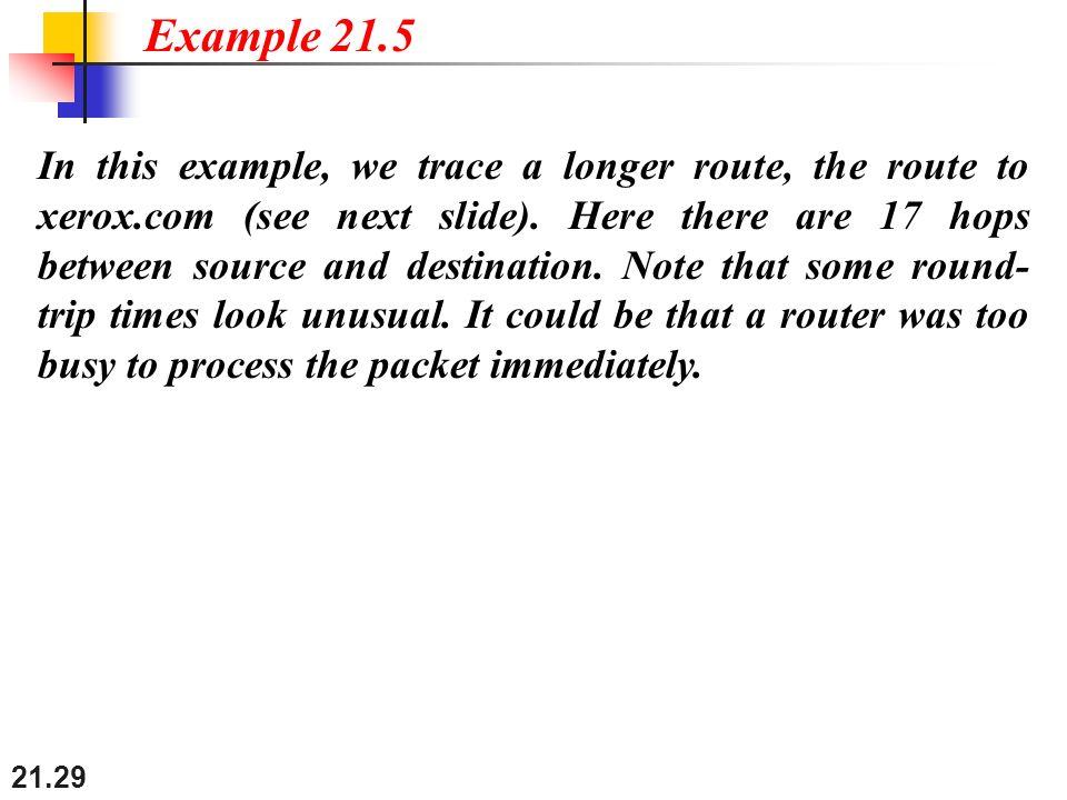 Example 21.5