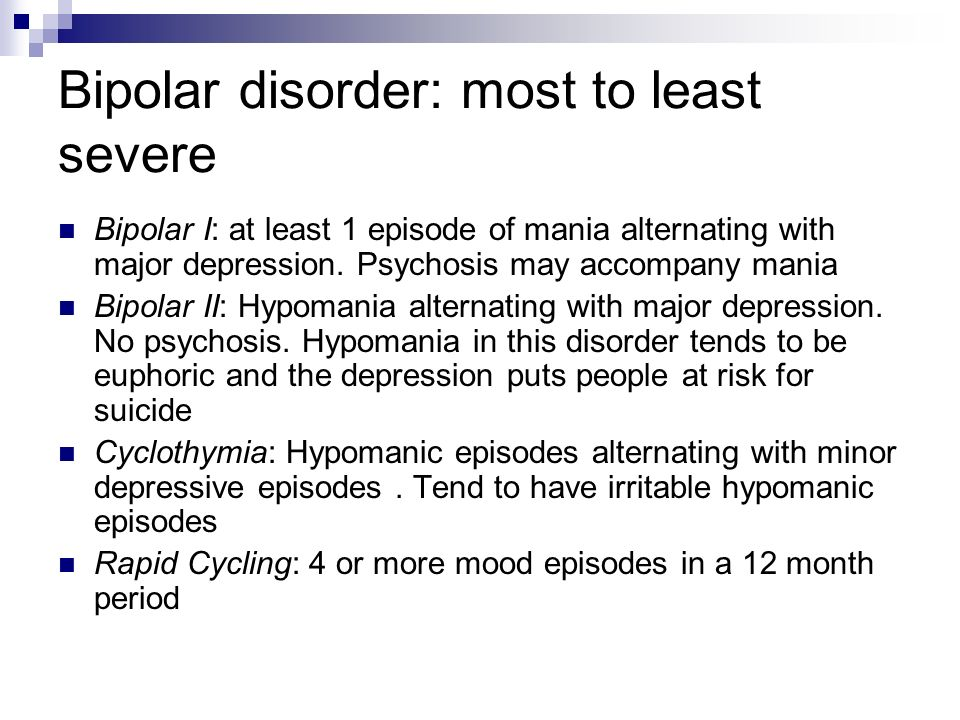 an analysis of bipolar disorder psyc 103 fall 95 Biology of bipolar disorder bipolar disorder is an affective a 2016 meta analysis reported that bipolar disorder was associated with grey matter reductions.