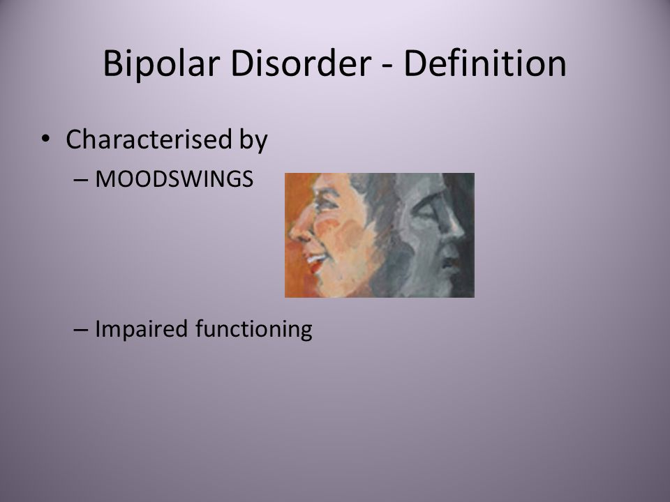 bipolar disease What is bipolar depression learn about the symptoms of bipolar depression and how it relates to bipolar disorder.