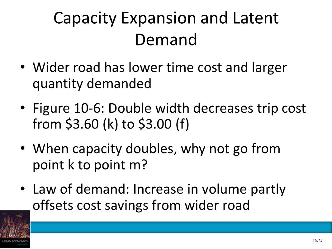 Capacity Expansion and Latent Demand