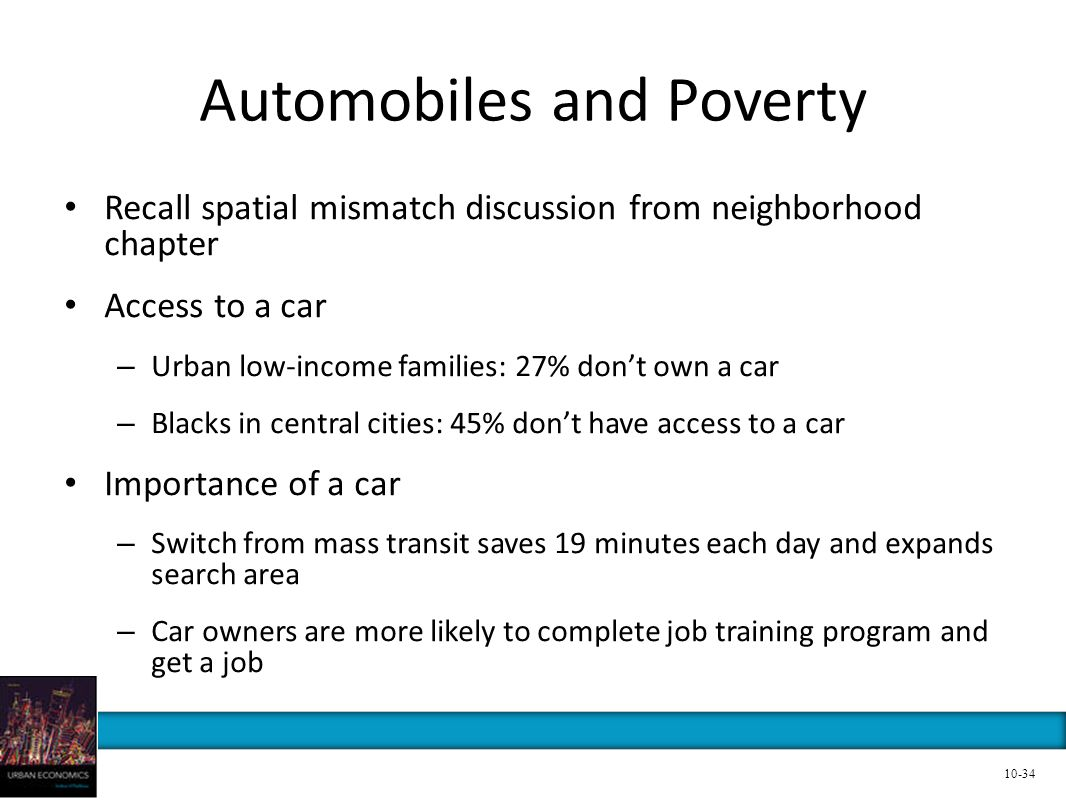 Automobiles and Poverty