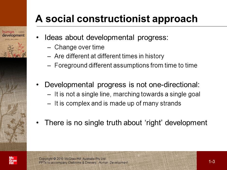 A social constructionist approach