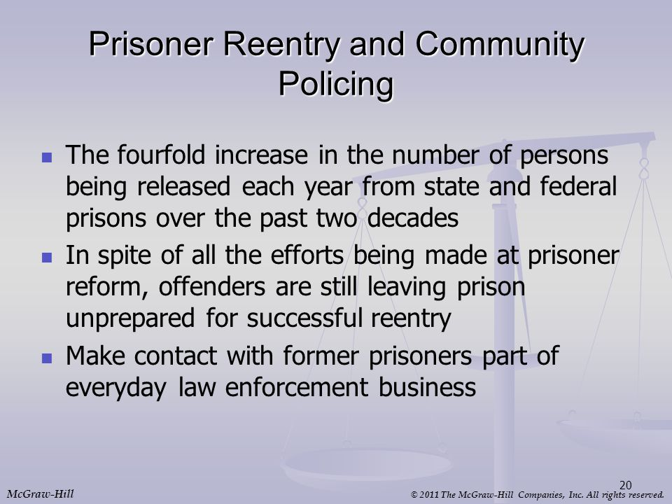 Prisoner Reentry and Community Policing
