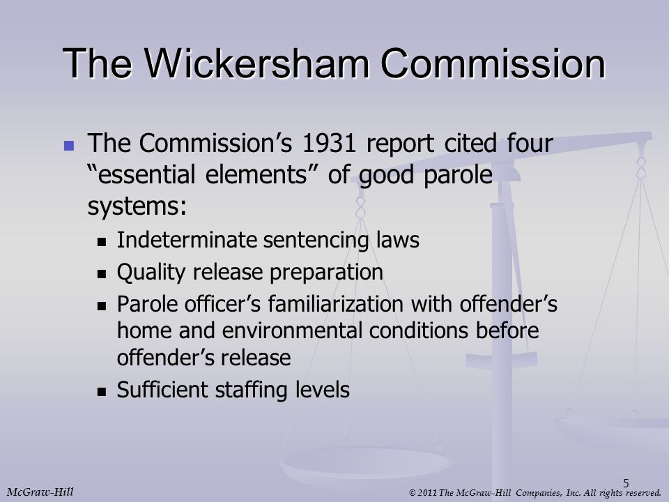 The Wickersham Commission