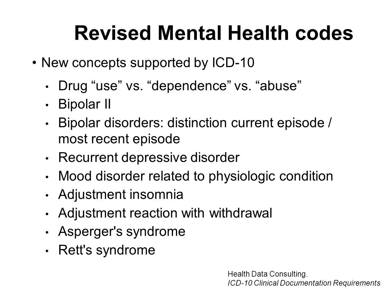 Bipolar Disorder And Icd 10