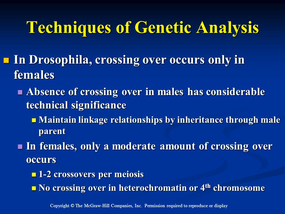 Techniques of Genetic Analysis