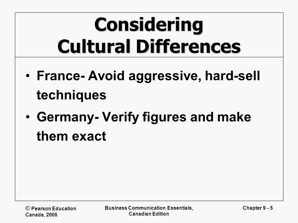 Business communication in germany