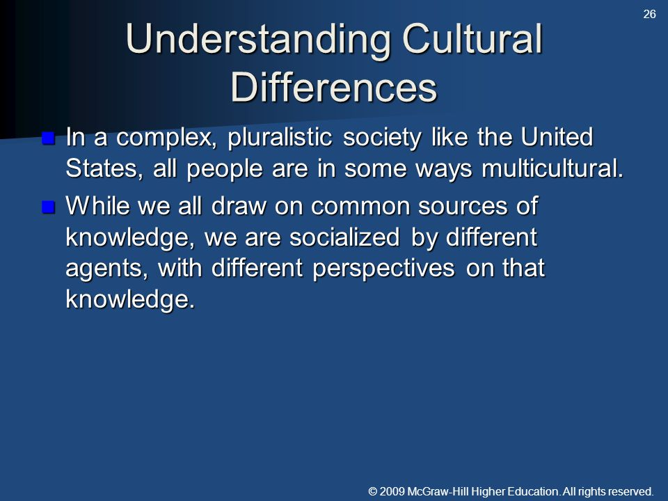 Understanding Cultural Differences