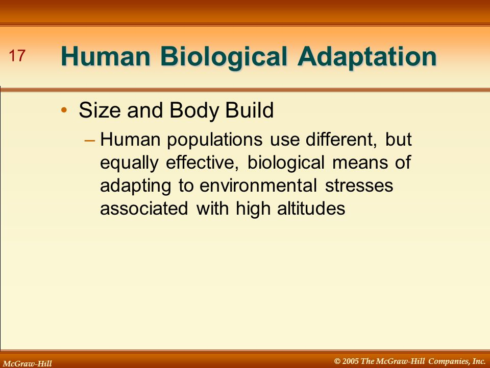 Human Biological Adaptation