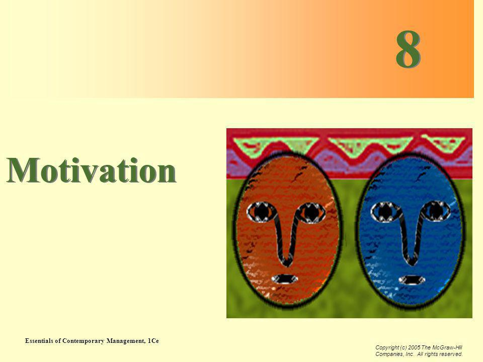 8 Motivation Chapter Twelve: Motivation