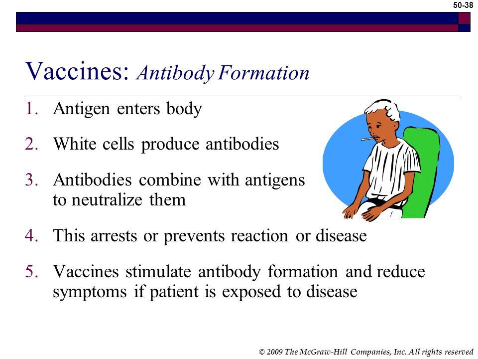 Vaccines: Antibody Formation