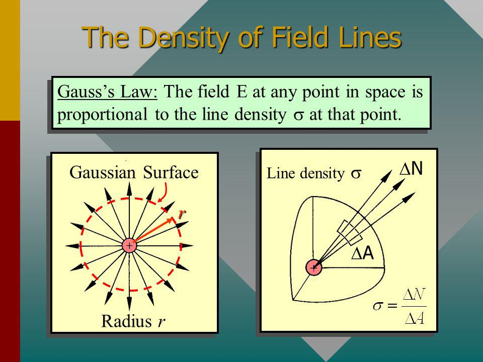 The Density of Field Lines