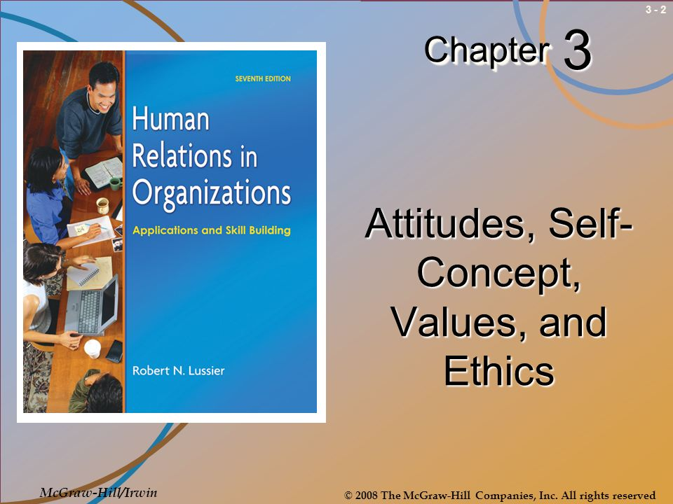 Attitudes, Self-Concept, Values, and Ethics