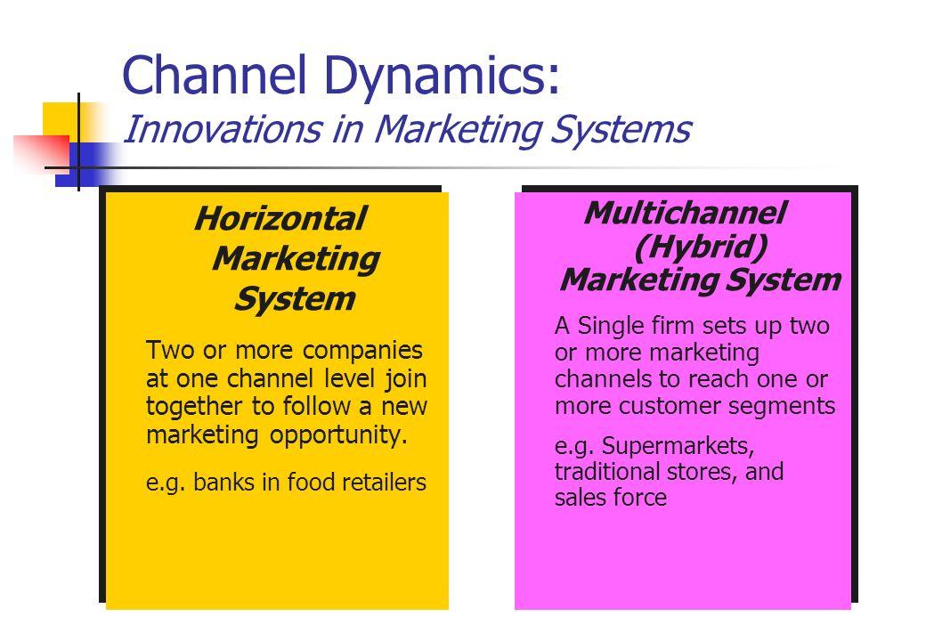 channel dynamics in marketing pdf