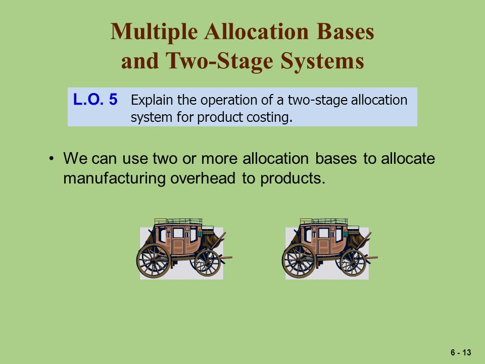 Multiple Allocation Bases and Two-Stage Systems