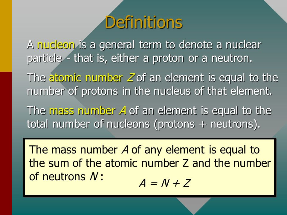 Definitions A nucleon is a general term to denote a nuclear particle - that is, either a proton or a neutron.
