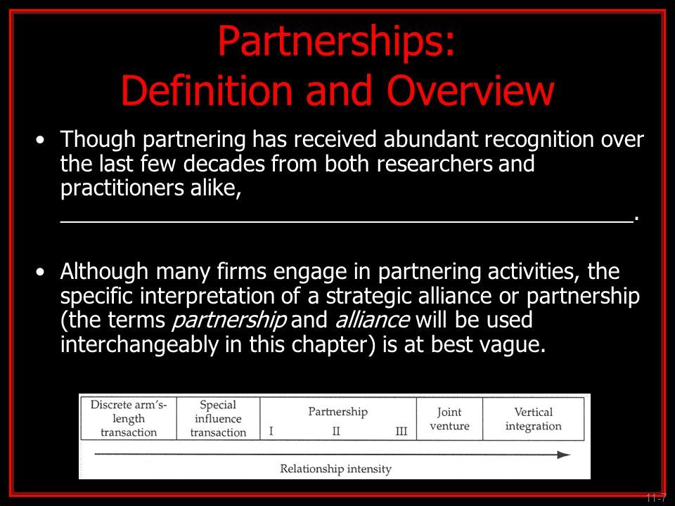 Partnerships: Definition and Overview