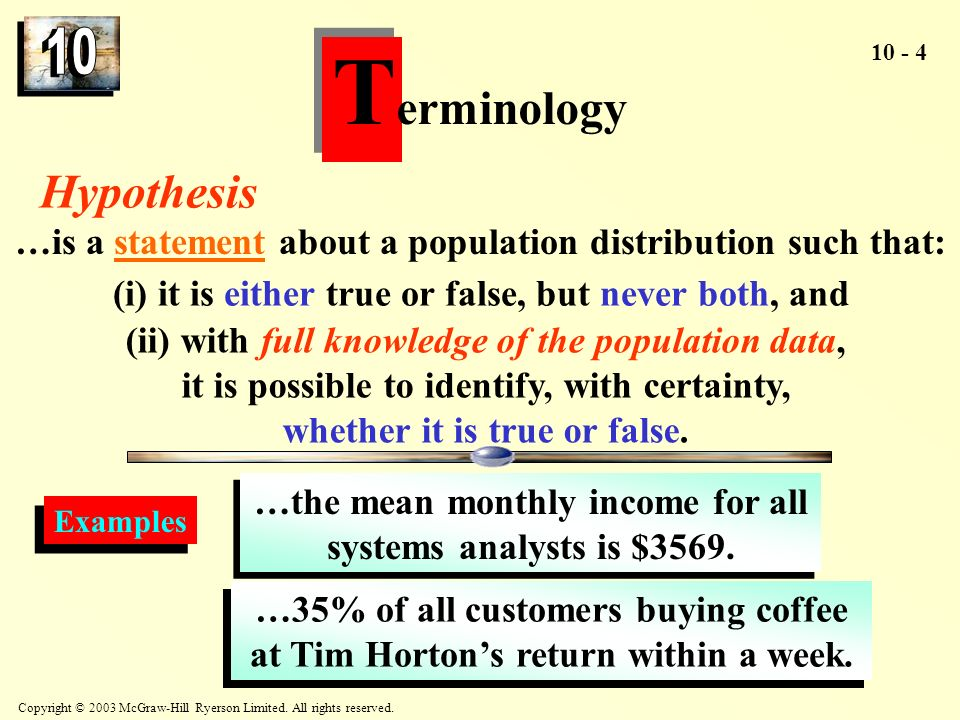 Terminology Hypothesis