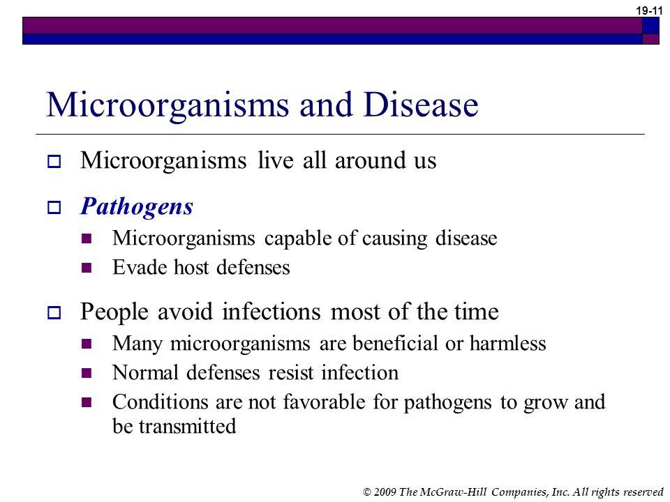 Microorganisms and Disease