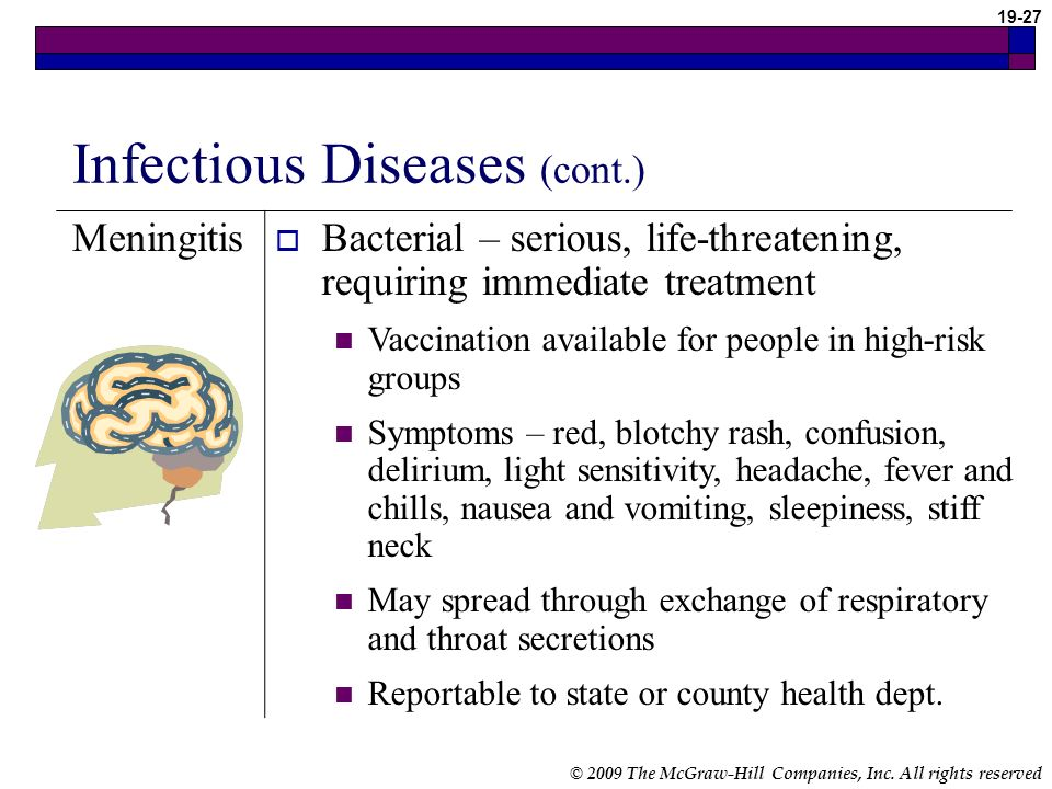 Infectious Diseases (cont.)