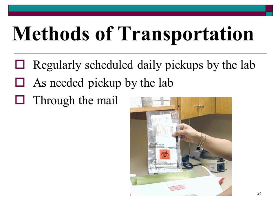 Methods of Transportation