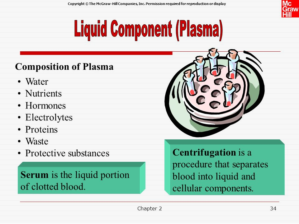 Liquid Component (Plasma)