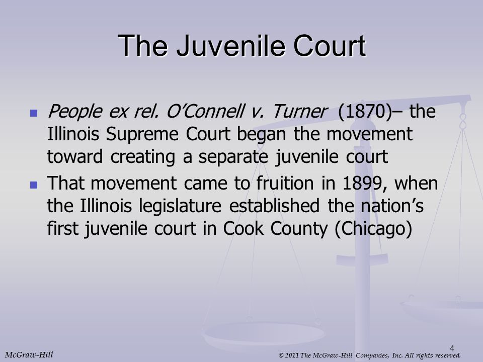 The Juvenile Court