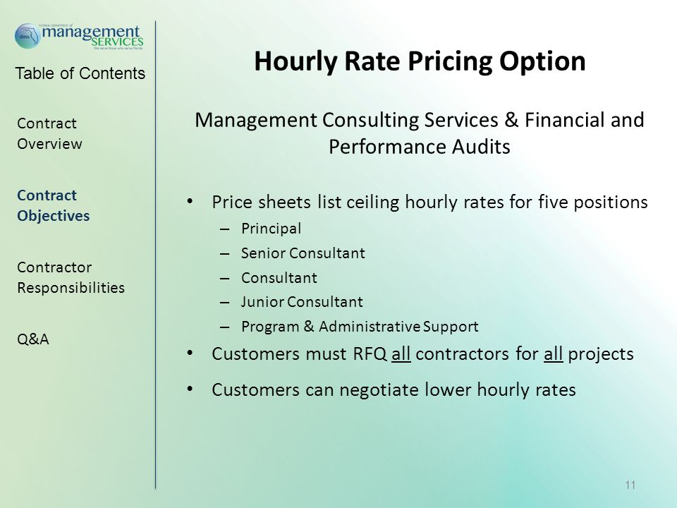 Rate option trading services