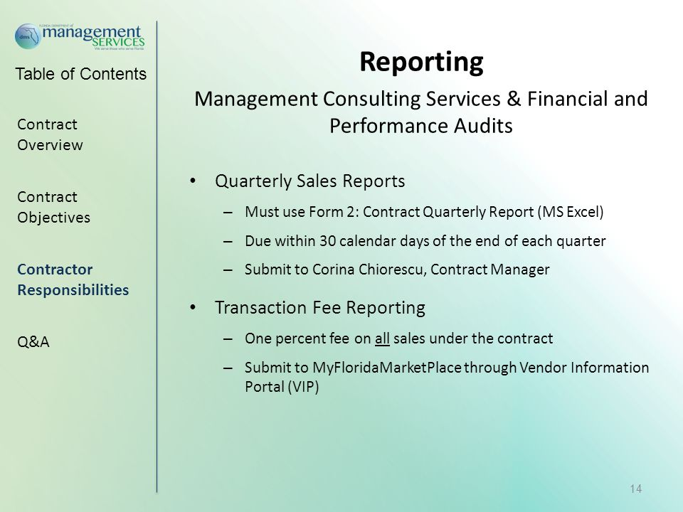 Management Consulting Services : Contractor orientation meeting ppt video online download