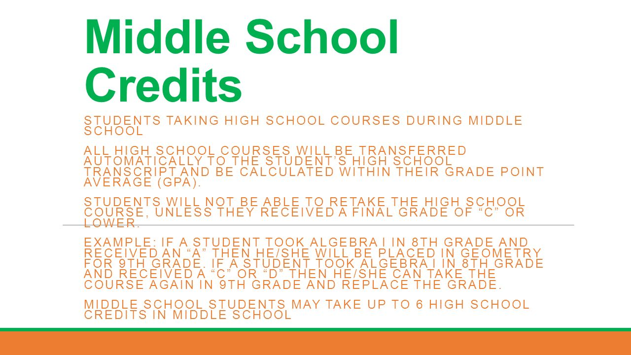 18 Middle School How To Calculate Gpa
