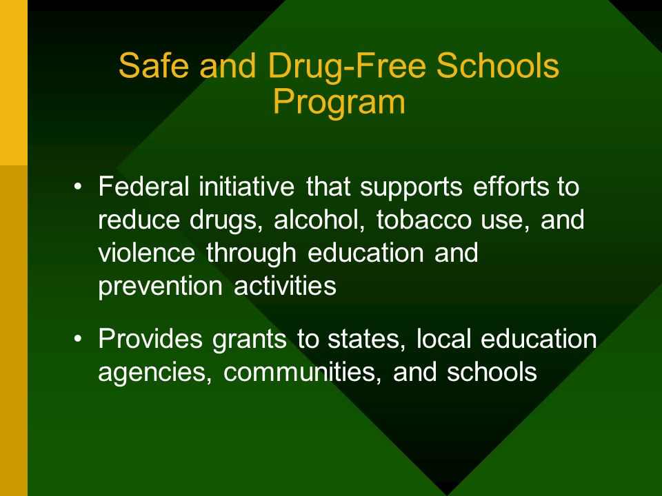 Safe and Drug-Free Schools Program