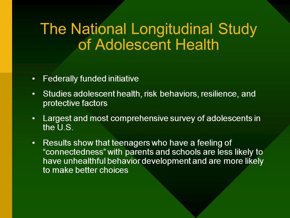 The National Longitudinal Study of Adolescent Health