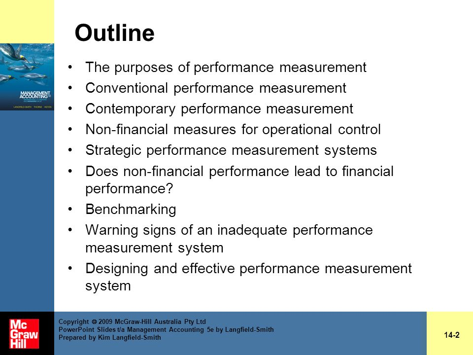 Outline The purposes of performance measurement