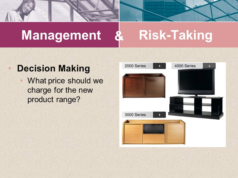 Management & Risk-Taking Decision Making