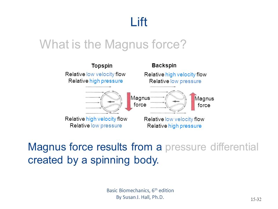 What is the Magnus force