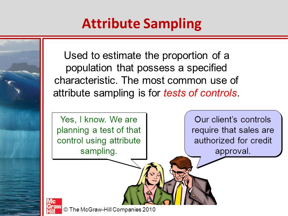 Attribute Sampling