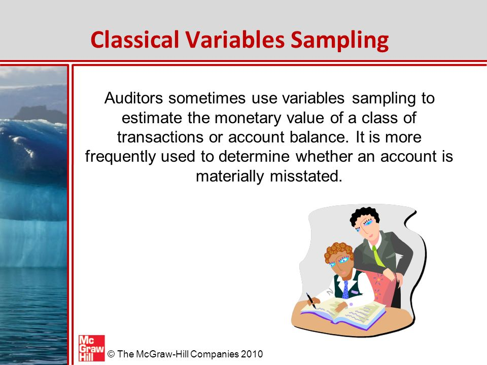 Classical Variables Sampling