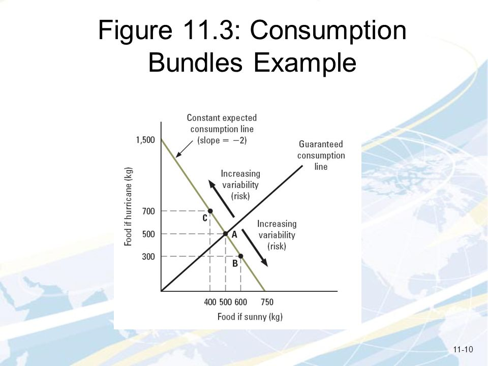 Figure 11.3: Consumption Bundles Example