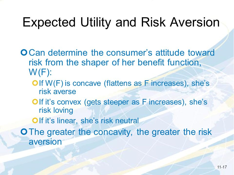 Expected Utility and Risk Aversion