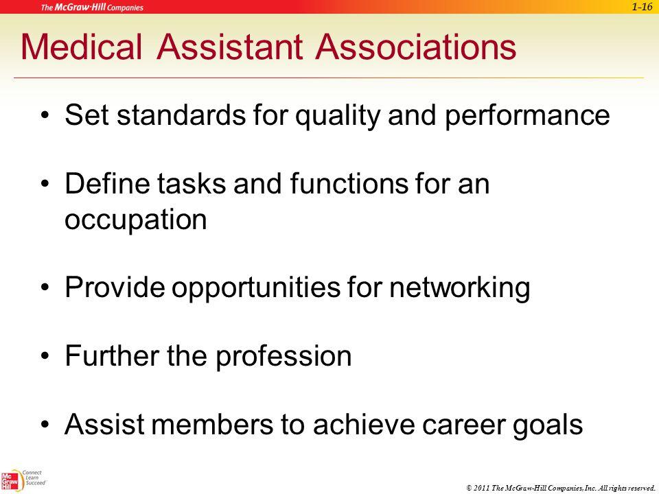 Medical Assistant Associations