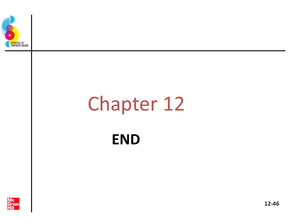 Chapter 12 END