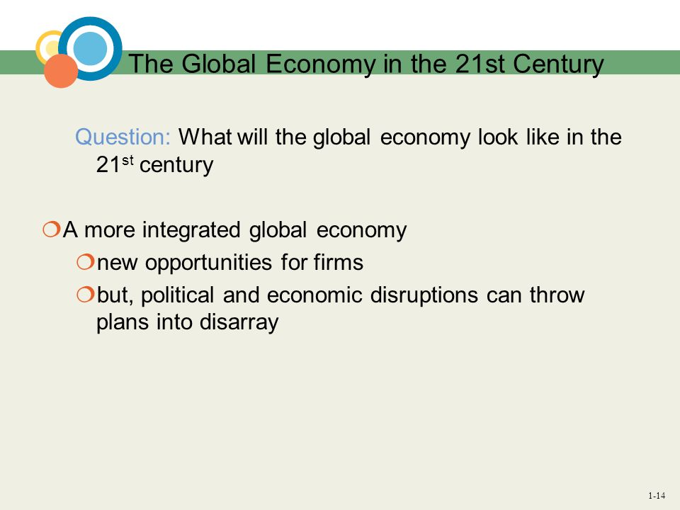 The Global Economy in the 21st Century