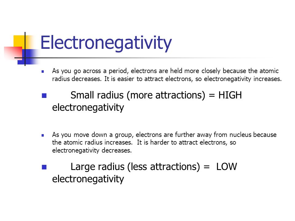 Periodic table does electronegativity increase or decrease across periodic table does electronegativity increase or decrease across the periodic table the periodic table urtaz Images