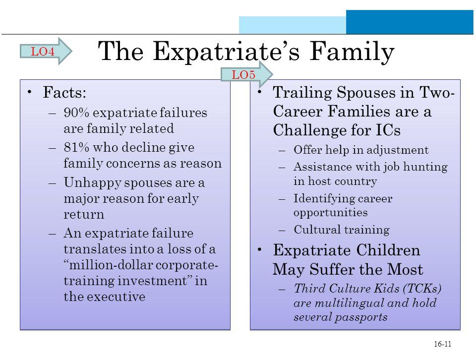 The Expatriate's Family
