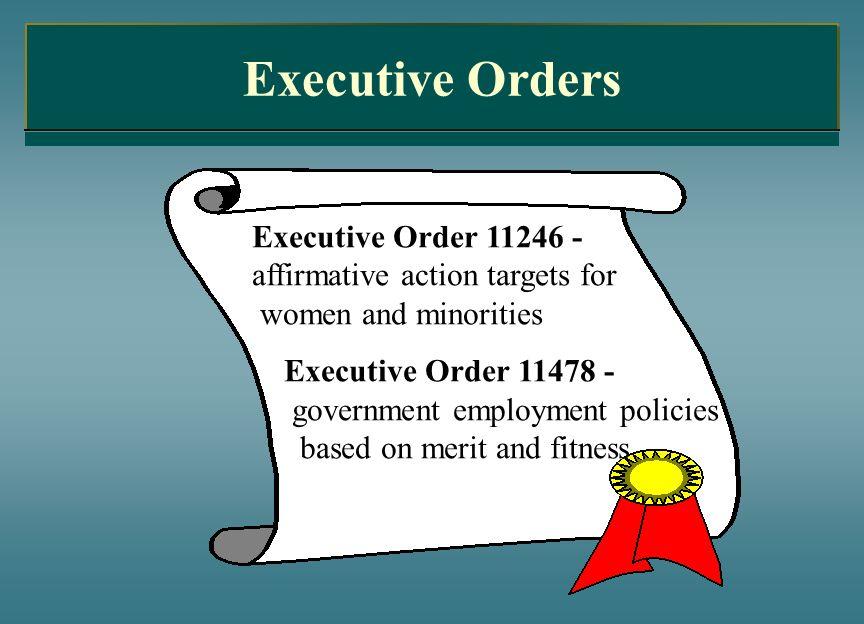 Executive Orders Executive Order 11246 -