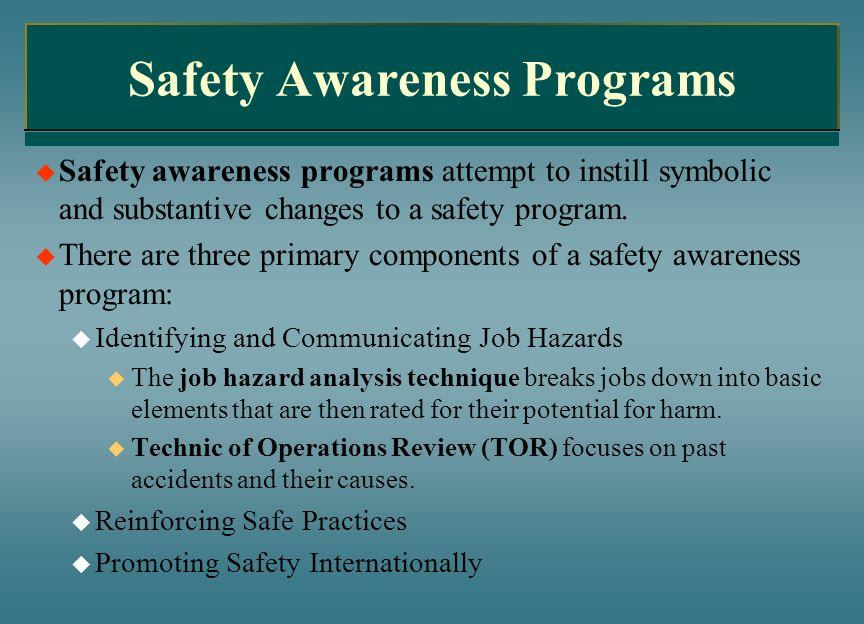 Safety Awareness Programs