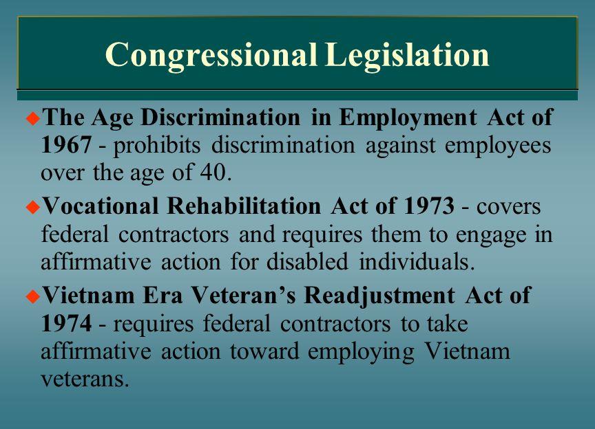 Congressional Legislation
