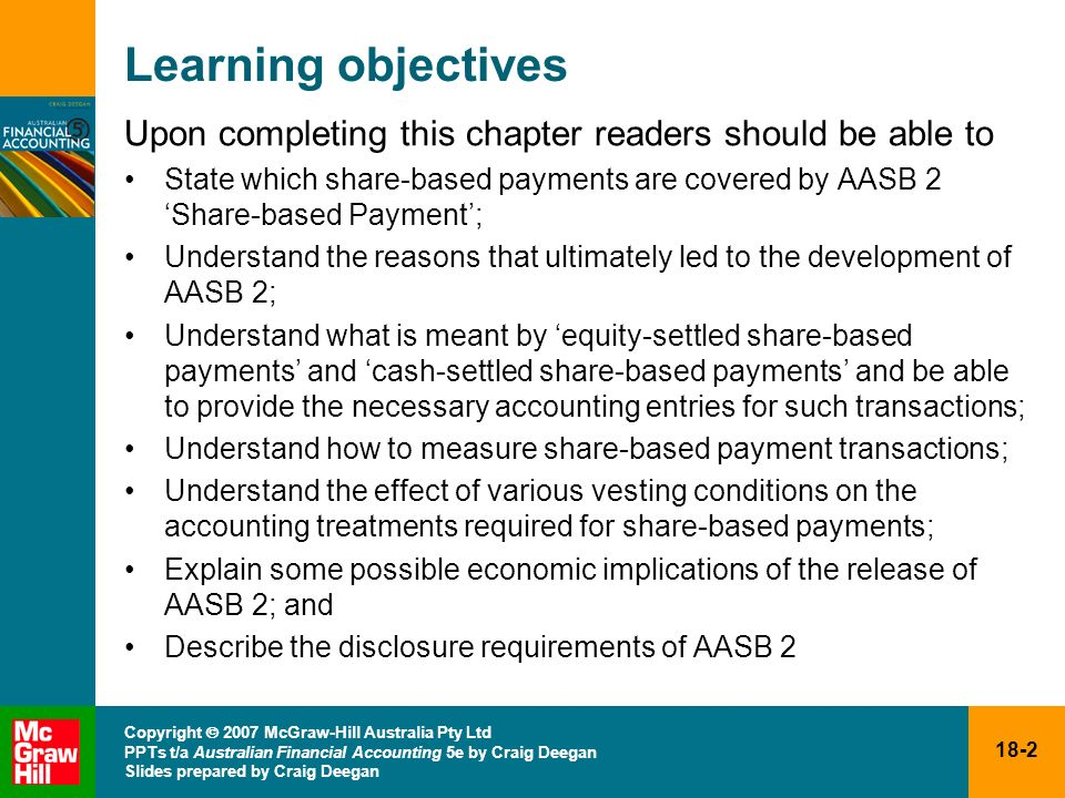 Learning objectives Upon completing this chapter readers should be able to.